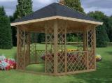 Wholesale Garden Products - Buy And Sell On Fordaq - Fir  Kiosk - Gazebo Romania