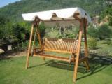Garden Benches Garden Furniture - SWING 3 SEATS - GARDEN FURNITURE