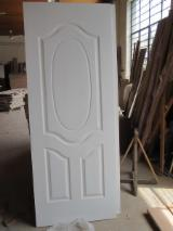 White primed HDF/MDF moulded door skin