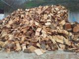Unpacked Oak Firewood - Big Quantities Available