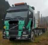 Romania Forest & Harvesting Equipment - Used Volvo 1996 Longlog Truck in Romania