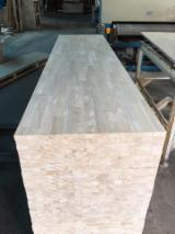 Vend Panneau Massif 1 Pli Hevea 18-22-33-40-44 mm