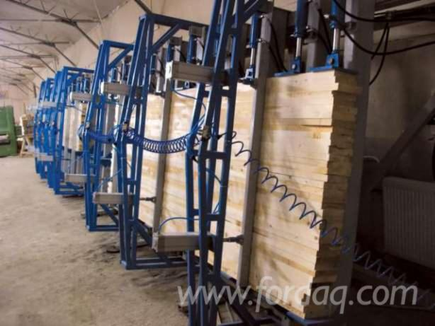 Used laminated wood press for sale romania for Laminated wood for sale
