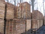 Laubschnittholz, Besäumtes Holz, Hobelware  - Parkettfriese, Eiche