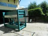 Romania Woodworking Machinery - Used OTT Automatically Fed Press For Veneering Flat Surfaces For Sale Romania