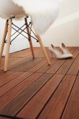 B2B 室外复合地板待售 - 上Fordaq采购或销售 - 白色灰, 防滑地板(单面)