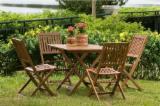 Meubles De Jardin à vendre - Vend Ensemble De Jardin Contemporain Feuillus Européens Acacia