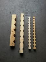 Spruce  - Whitewood Solid Wood Components - Spruce  Woodturnings - Turned Wood Italy
