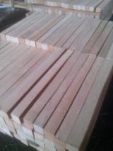Hardwood - Square-Edged Sawn Timber - Lumber  - Fordaq Online market - Beech (Europe) edged timber, squares, elements - Ukraine
