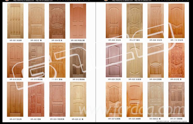 Wood-veneer-HDF-door