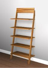 Kids Bedroom Furniture - Shelves Made From Acacia Wood