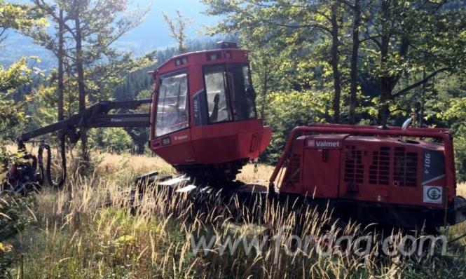 Used-Valmet---10300-H-901-X3M-2010-Harvester