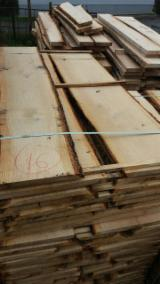 Hardwood  Unedged Timber - Flitches - Boules - Oak Loose Planks 30-55 mm