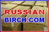 Laubschnittholz, Besäumtes Holz, Hobelware  Zu Verkaufen Russland - Bretter, Dielen, Birke