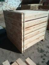 Sawn Timber - All coniferous Packaging timber from Belarus