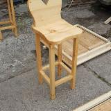 Natural Wood Contract Furniture - Bar chairs