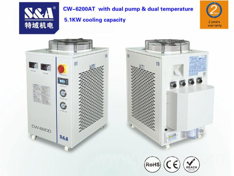S Amp A Chiller Cw 6100 For Woodworking And Laser Machines