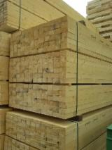 Kiln Dry (KD) Spruce  - Whitewood Squares Italy
