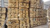 Hardwood  Unedged Timber - Flitches - Boules PEFC FFC - 22mm unedged Oak Lumber, ABC, KD