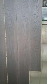 Engineered Wood Flooring - Multilayered Wood Flooring - Oak Parquet Flooring With Smoked and Natural Oil