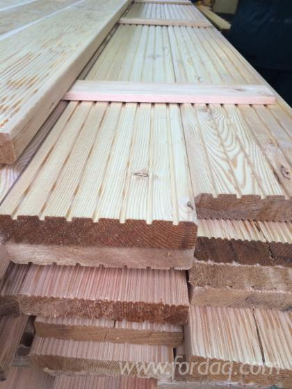 Siberian larch decking for sale for Timber decking for sale