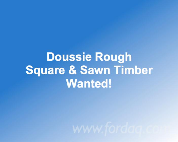 Doussie-Rough-Square---Sawn-Timber