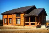 null - Vend Maison Bois : Madrier Empilés Pin  - Bois Rouge Résineux Européens