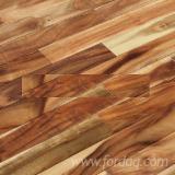 null - Robinie , Massivholzböden 4-seitig Gehobelte Lamellen