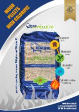 Leña, Pellets y Residuos - KREX woodPELLETS high calorific bright pine wood pellet