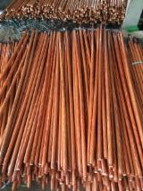 木质组件、木框、门窗及房屋 亚洲 - 扫帚手柄和其它使用手杖