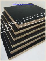 Shuttering marine plywood, black film faced plywood
