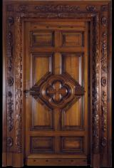 France Finished Products - Walnut Doors from France