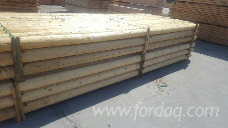 Pine----Redwood-140---160-mm--Conical-Shaped-Round