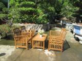 Meubles De Jardin à vendre - Vend Ensemble De Jardin Contemporain Feuillus Européens Eucalyptus