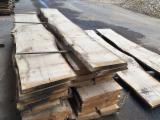 Hardwood  Unedged Timber - Flitches - Boules - European Oak, unedged lumber, KD 10+/-2%