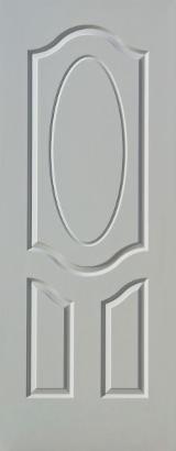 China Composite Wood Products - Teak Veneer Laminated HDF Door Skin