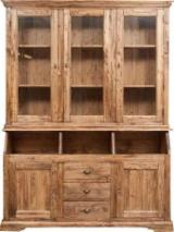 Living Room Furniture - Contemporary Poplar Display Cabinets Romania