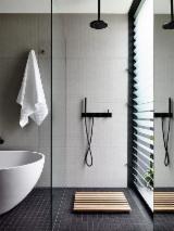Badezimmermöbel - Design Robinie (Falsche Akazie) Oil Bath Mats Binh Dinh Vietnam zu Verkaufen