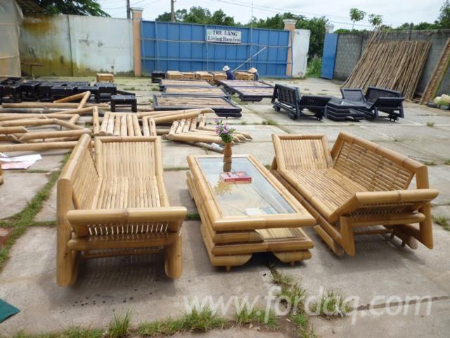 Bamboo sofa, bamboo living room, bamboo table, bamboo furniture