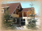 Wood Houses - Precut Framing Lumber For Sale - Timber Framed House, Spruce