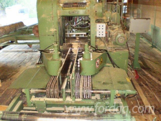 Sawmill machines for sale Nicholson,Bruks,Sprecher, Linck,EWD,Rudnick & Enners,Mayrhofer