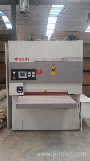 Gebraucht-SCM-Sandya-7S-2006-Schleifmaschinen-Mit-Schleifband-Zu-Verkaufen