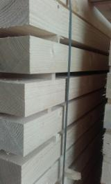 Softwood  Sawn Timber - Lumber - 75 / 95  mm Fresh Sawn All coniferous Squares from Belarus