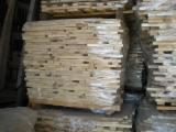 Hardwood  Sawn Timber - Lumber - Planed Timber - Maple short elements