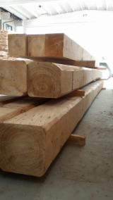 Hardwood Lumber And Sawn Timber - Chestnut Beams F 1 Italy