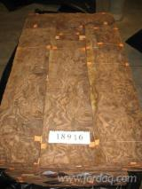 Rotary Cut Veneer - Rotary Cut, Burly Walnut from USA