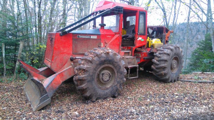 Used-Timberjack--380B-1992-Articulated-Skidder