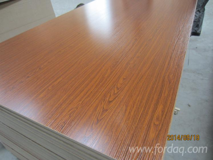 Two sides melamine paper coated mdf board for Mdf colors