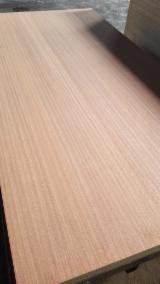 Plywood Supplies - 18mm sapelli veneered plywood, sapele plywood fancy plywood