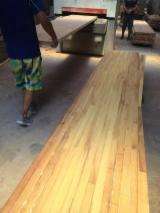Solid Wood Components For Sale - Sell Iroko hardwood worktops, finger-jointed panels, edge-glued panels